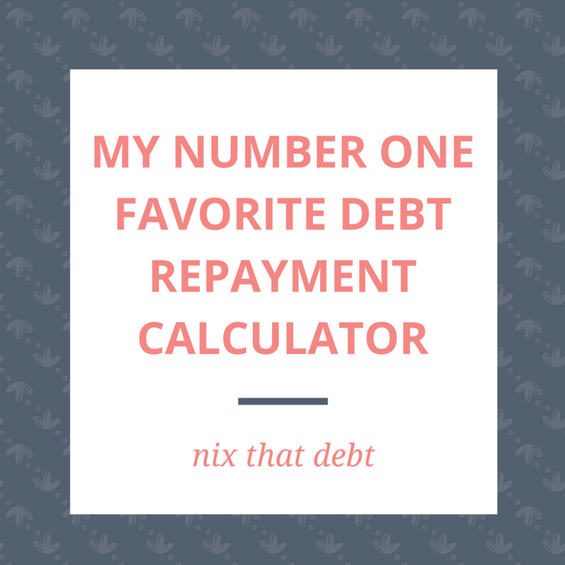 my number one favorite debt repayment calculator ask allea millennial money answers