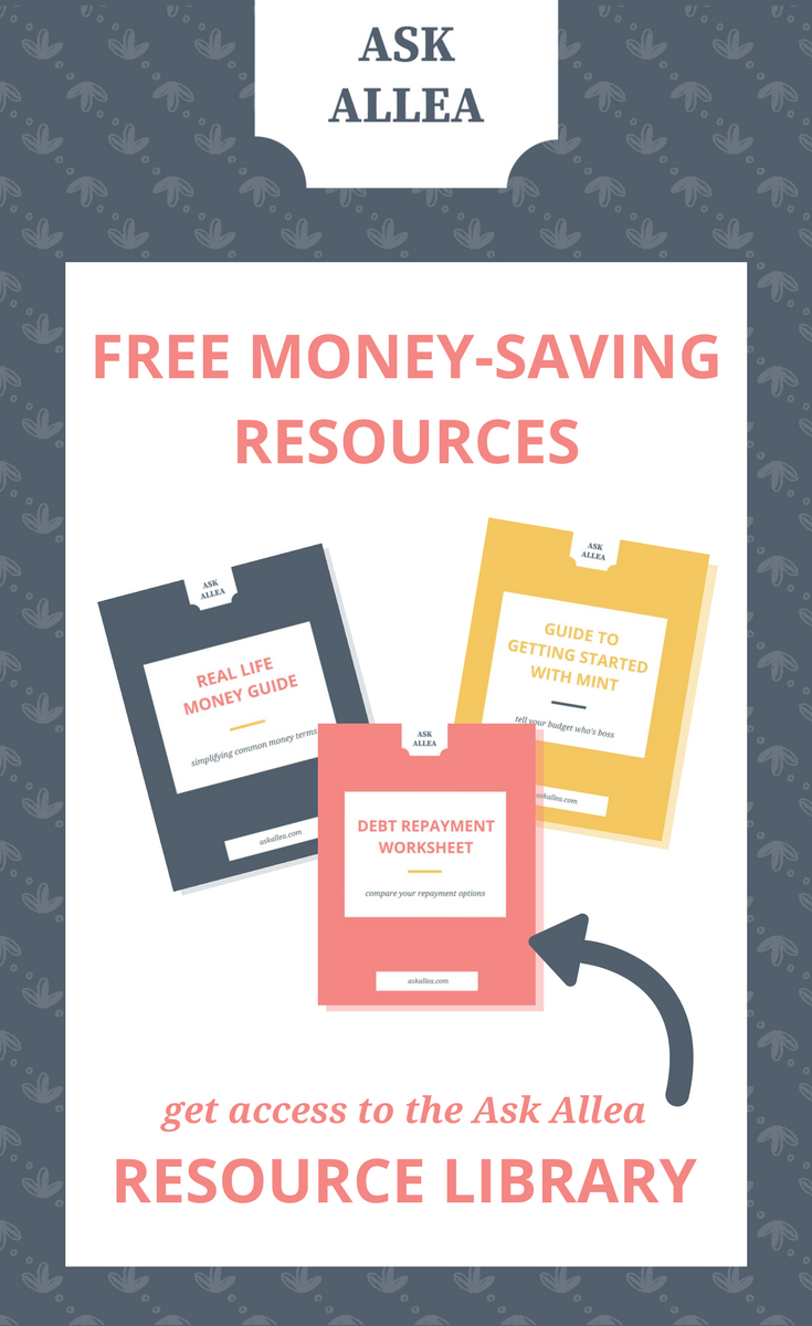 Ask Allea // Free Resource Library