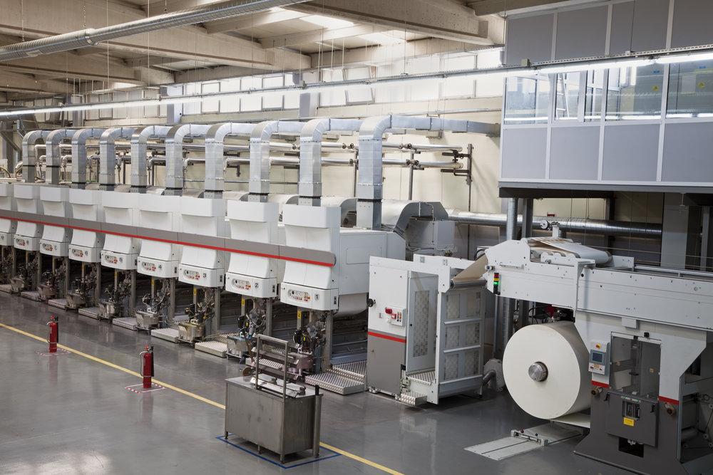 Web Handling & Printing Equipment OEMs