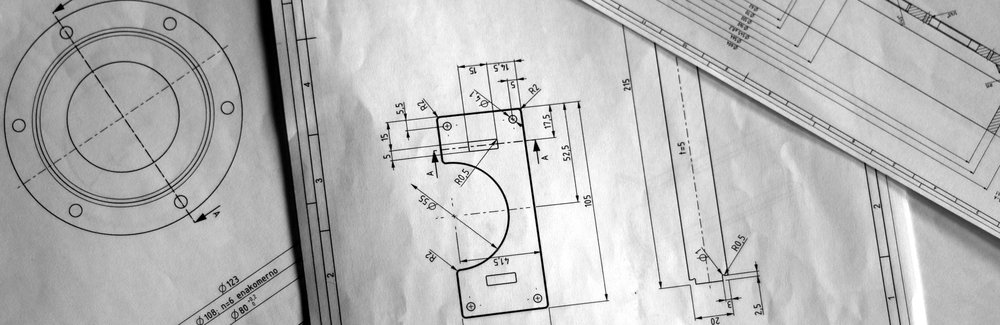 Custom part design blueprints