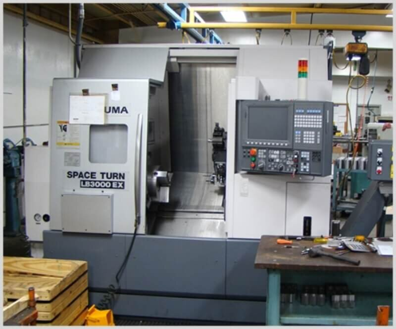 Okuma LV-3000 CNC Lathe w/live tooling