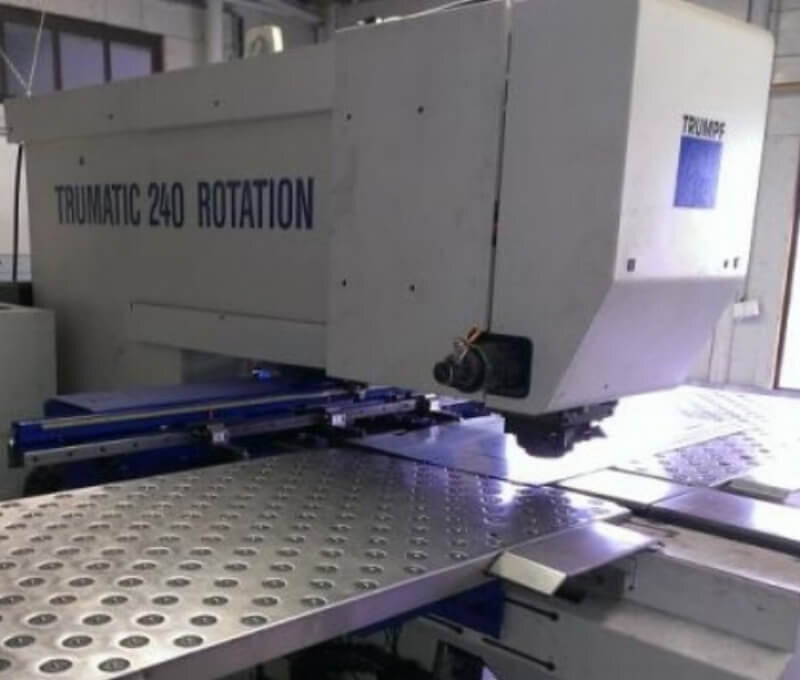 Trumpf - Trumatic 240 Rotation Punch