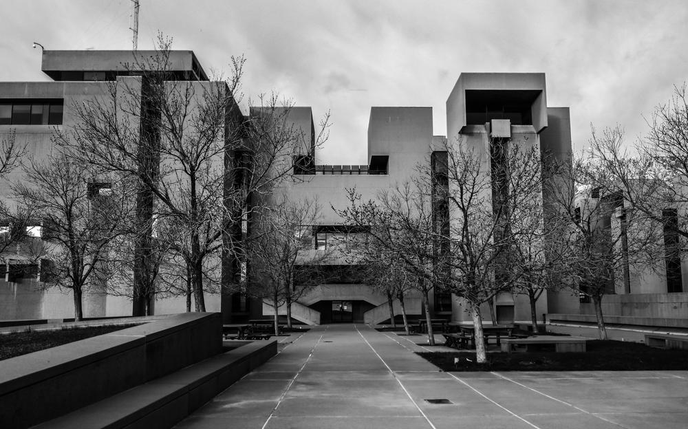 NCAR Mesa Laboratory - Boulder, Colorado - I.M. Pei
