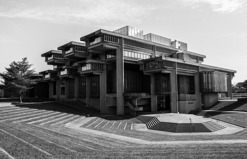 Vietnam Veterans Peace Memorial Amphitheater at University of Massachusetts Dartmouth - North Dartmouth, Massachusetts - Paul Rudolph