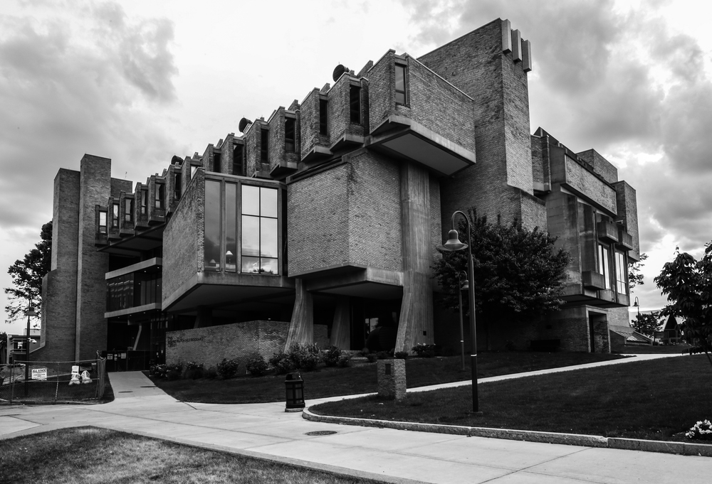 Robert H. Goddard Library at Clark University - Worcester, Massachusetts - John M. Johansen