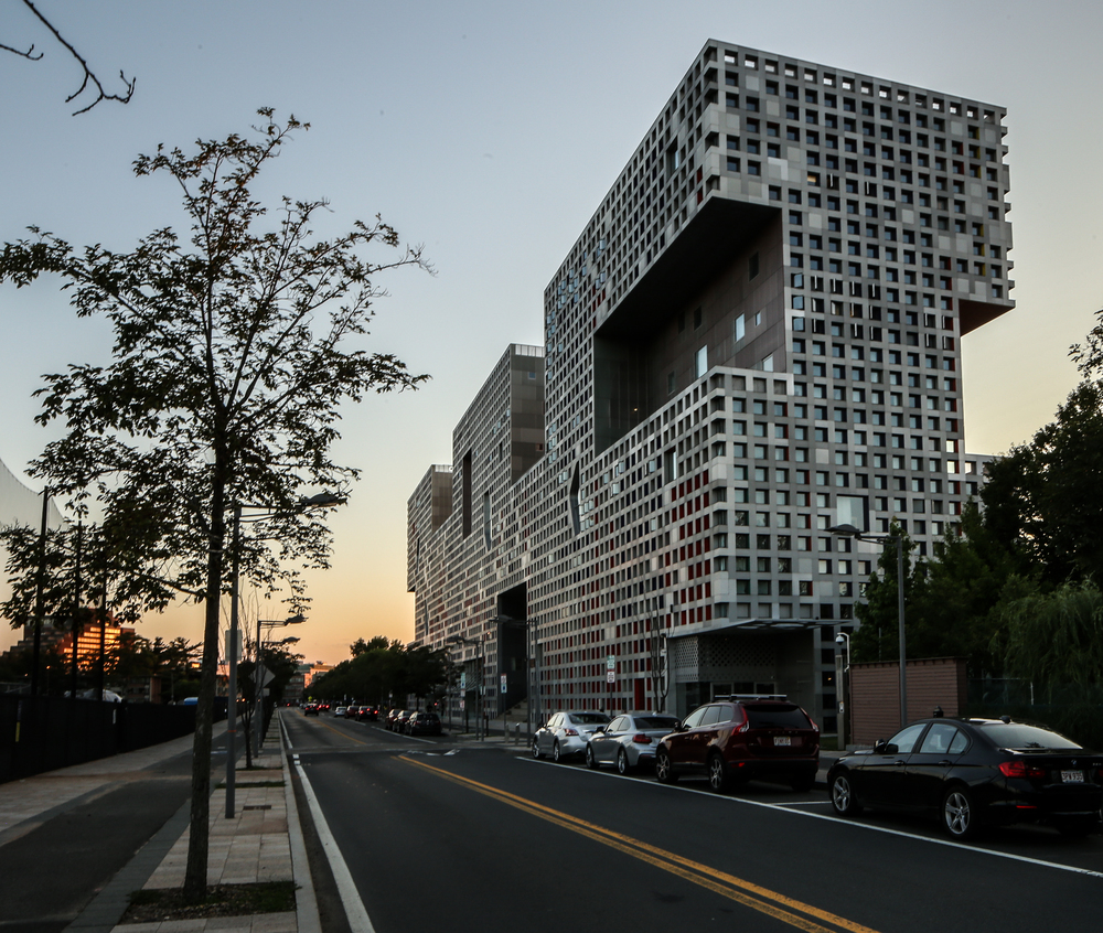 Simmons Hall at MIT Campus - Cambridge, Massachusetts - Steven Holl