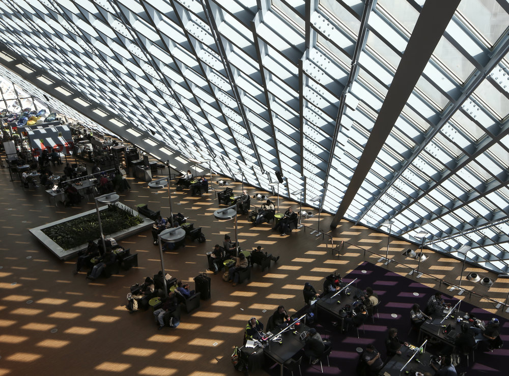 Seattle Central Library - Seattle, Washington - Rem Koolhaas, Joshua Prince-Ramus