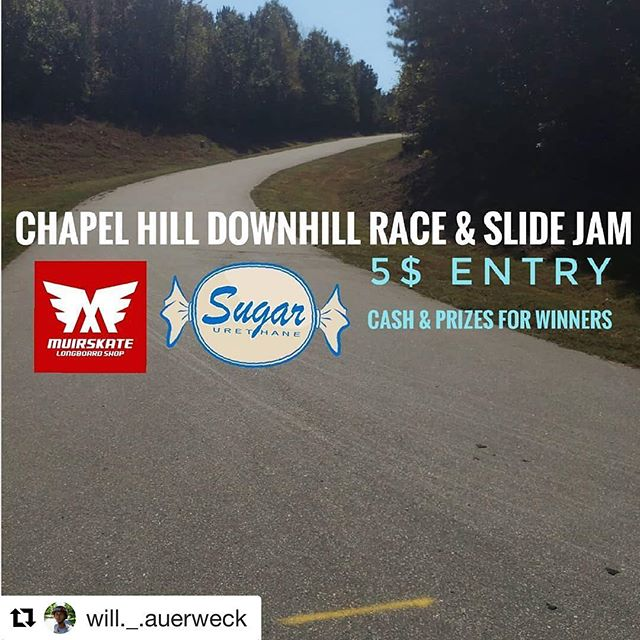Check out the Chapel Hill Race and Slide Jam going down in NC Jan. 6th! #longboard #longboarding #race #slidejam