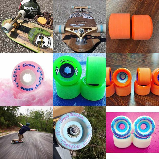 Thanks to all the Sugar supporters for a stellar 2017. We have few new wheels in the works for 2018! #sugarurethane #2017