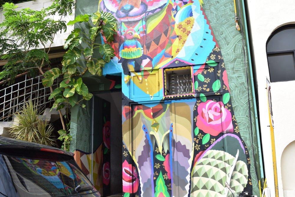 Random street art we found a couple blocks away from the hotel.