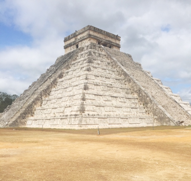 Finally got to cross off one of the Seven World Wonders off my list. The Chichen Itza was breathtaking.