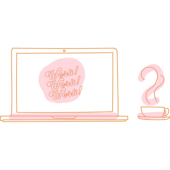 co-werk! - 7:30-8PMWork on your own-ish by applying this lesson to your creative projects to get one step closer to slay your business goals!