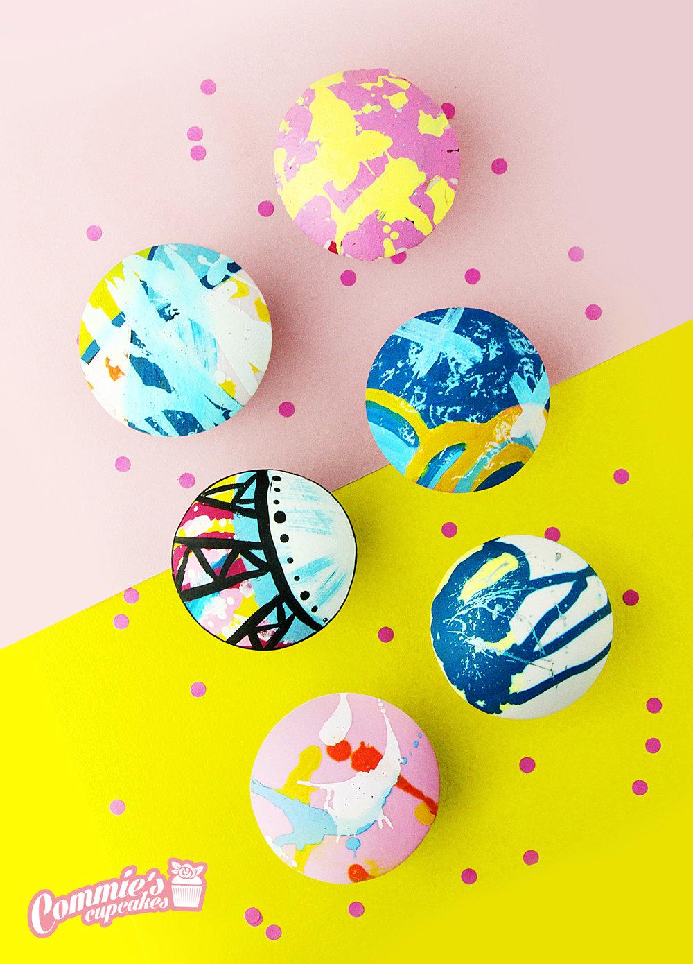 Commie's Cupcakes_Painted Cupcakes.jpg