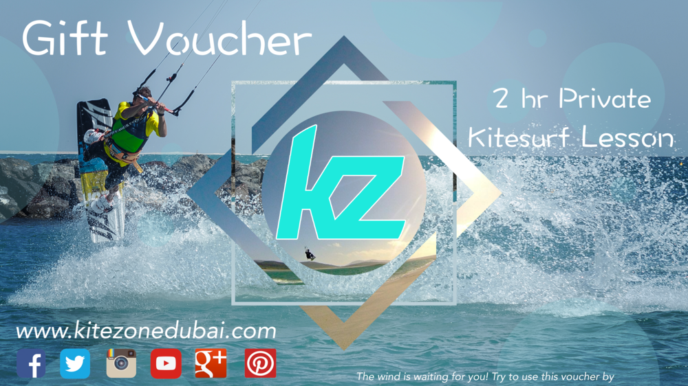 Buy a Kitesurfing Lesson Voucher for a friend and give them wings!
