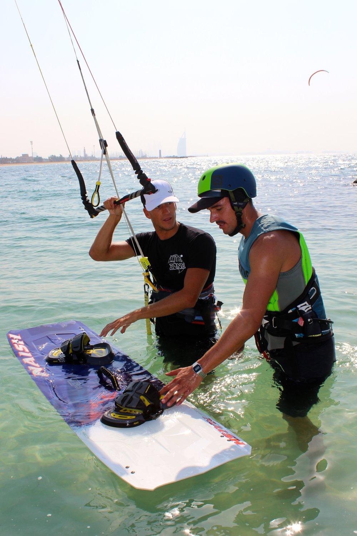 Kitesurfing Lessons in Dubai