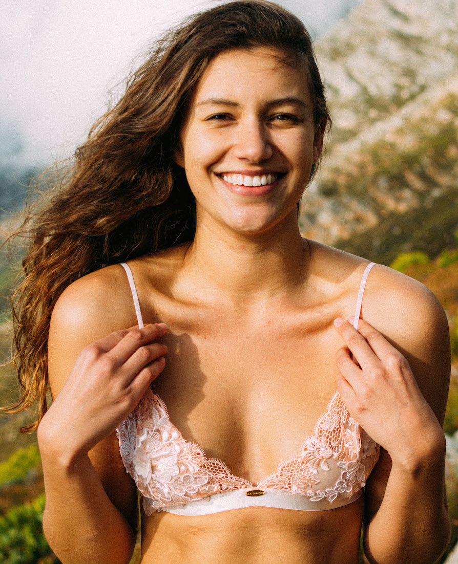 Peaches Bralette - EC49RRP = $69Wholesale = $27,60SizingSimplified sizing = small, medium & largeOrComplex sizing = 30AA-40D