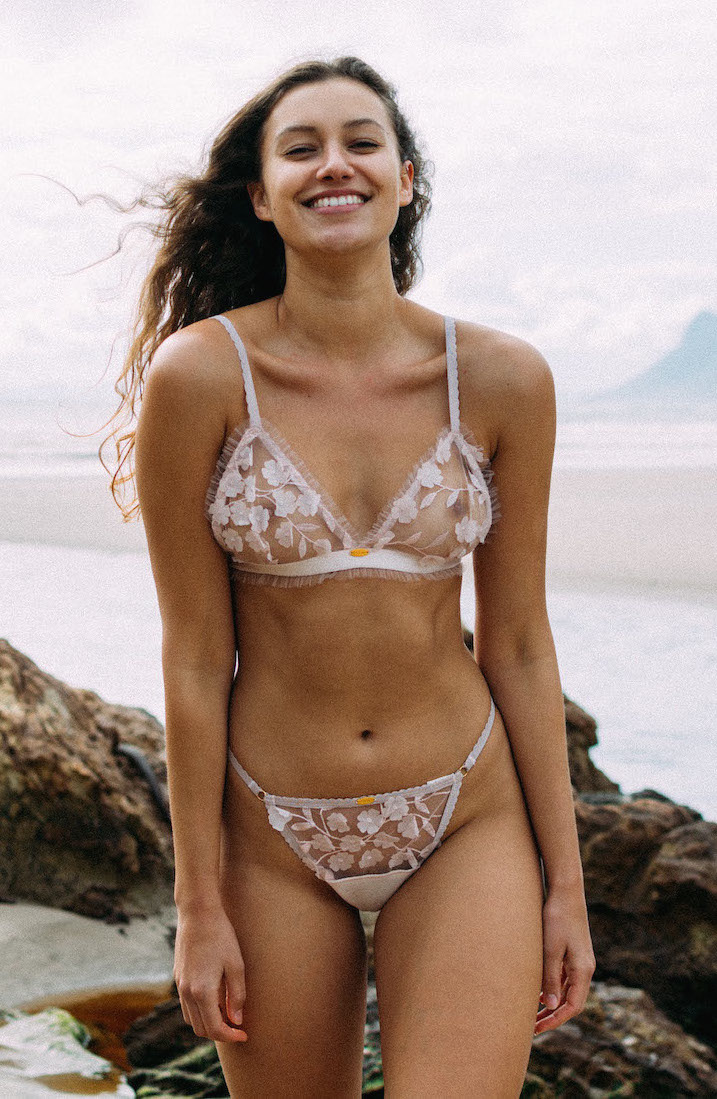 Holly Bralette - EC51RRP = $69Wholesale = $27,60SizingSimplified sizing = small, medium & largeOrComplex sizing = 30AA-40D