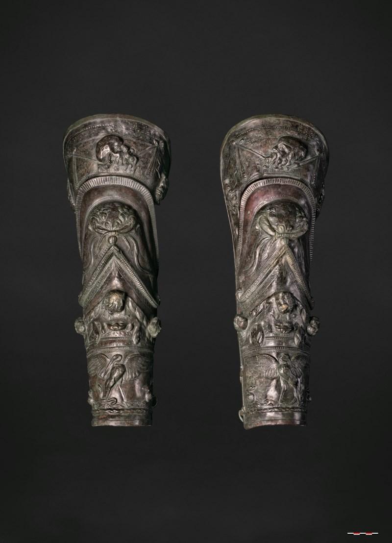 Bronzen beenplaten