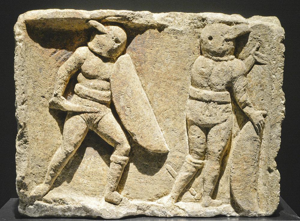 Secutores na een gevecht