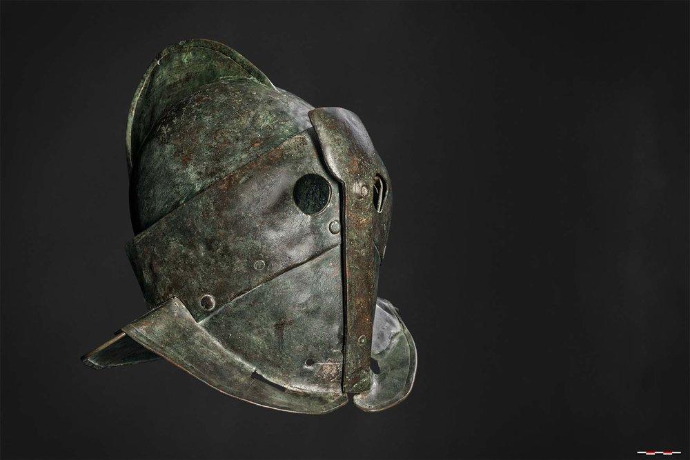 Helm van een secutor