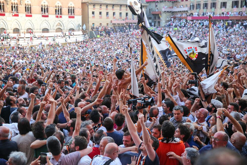 Palio Horse Race - Italy