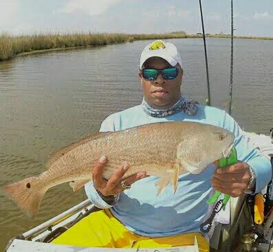 "Ivy Harris is a brand ambassador for Yaktribe, Traveling the Southern United states kayak fishing in his Hobie Pro Angler  Most memorable catch: 44 inch Redfish at Haulover Canal between Mosquito Lagoon with the Indian River, Florida.  Favorite target: Common Snook  ""Closed mouth don't get fed"""