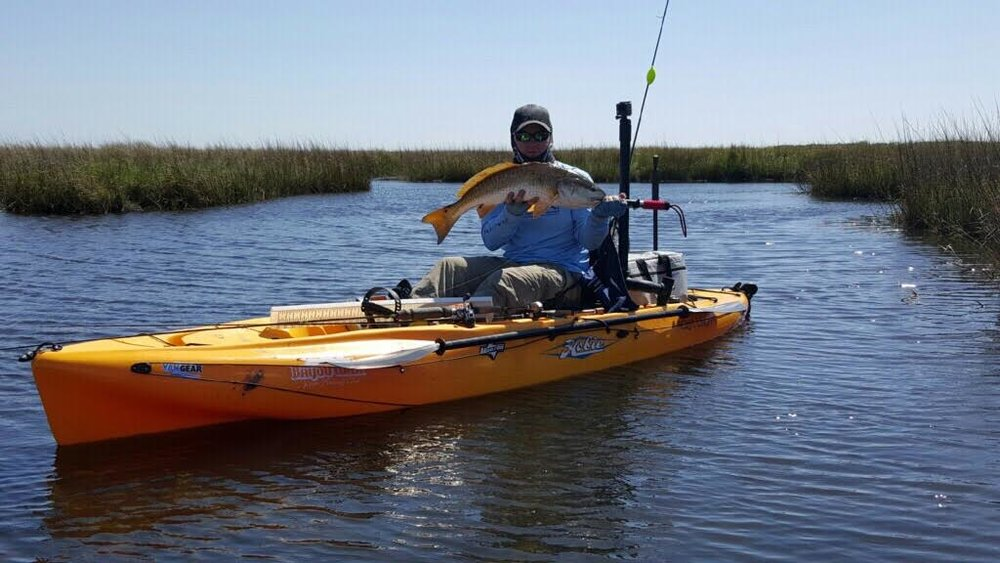 Daniel Weir      I'm 39 years old and I've been fishing all me life. Started kayak fishing two years ago. Was always looking to get to the spot out of casting range. I work as a shop foreman at local mechanic shop and am in the Army Reserves as a Warrant Officer assigned to the 377th TSC. I use a 2015 Hobie Outback. I mainly fish inshore saltwater looking for specks, reds, and flounder. This summer I will join a great group of guys in south Florida to target snook.   I live in the greater New Orleans area now grew up in south Alabama. I'm married with a 4 year old son.