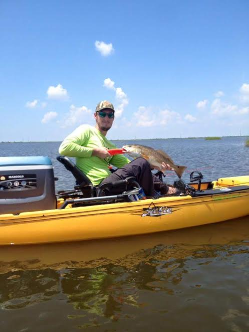 Shawn Babin is an avid fisherman (at best), but is obsessed with it just like all of us! Shawn mostly fishes out of his Hobie Pro Angler and you can bet if he's fishing salt water, he is using Gulp!