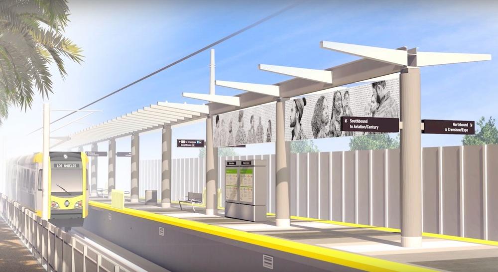 Metro rendering