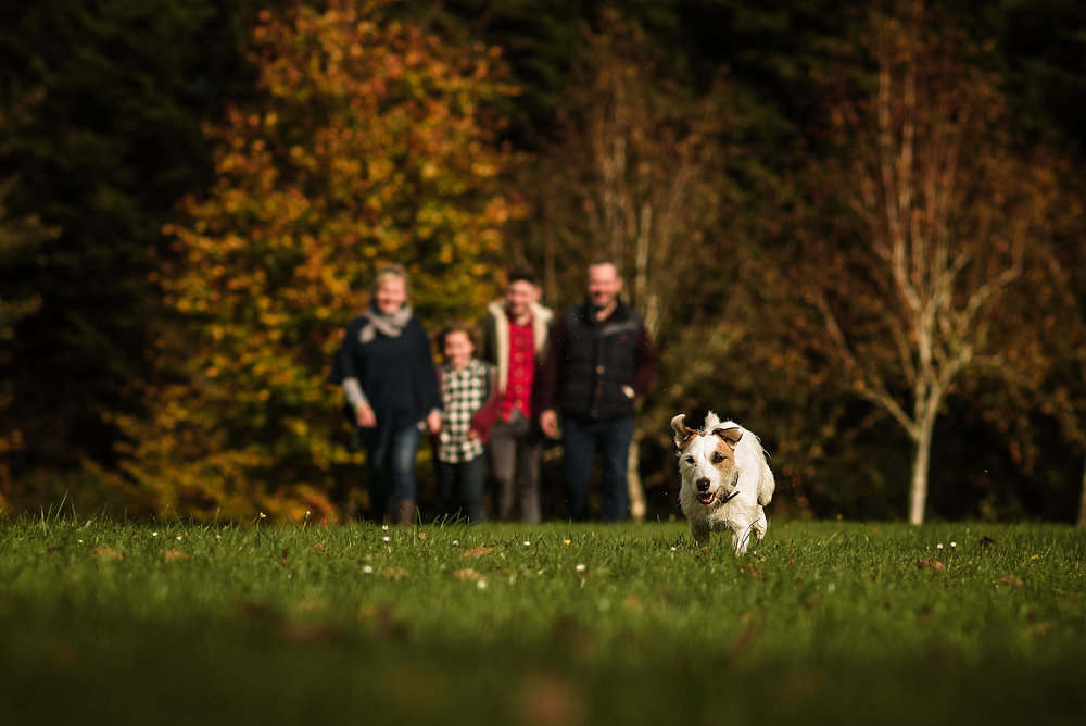 Family photo session in local park in aylesbury buckinghamshire
