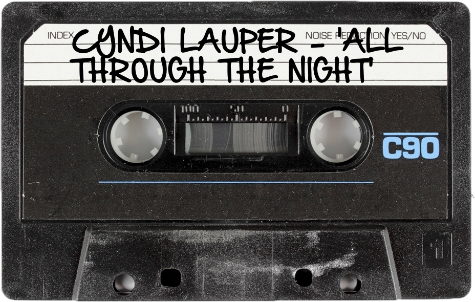 143 CYNDI LAUPER - 'ALL THROUGH THE NIGHT'.jpg