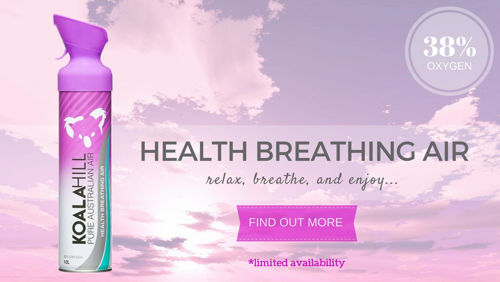 Koala Hill Health Air with Enriched Oxygen, product banner