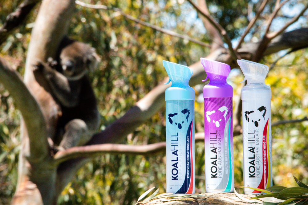 Koala Hill Air products with Enriched Oxygen