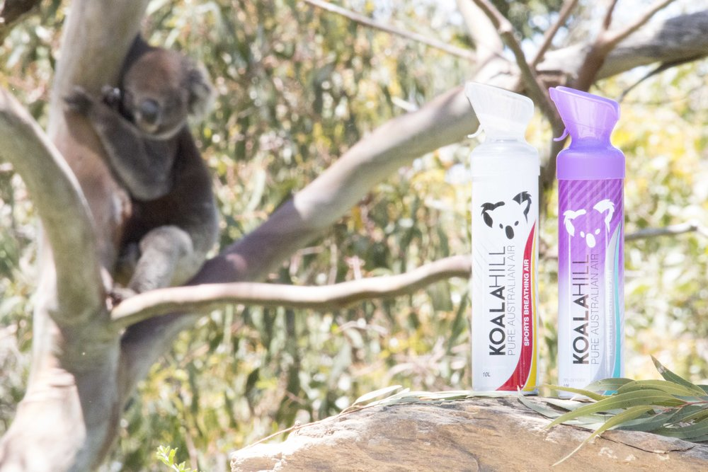 Koala Hill Enriched Air products with oxygen - Health Breathing Air and Sports Breathing Air