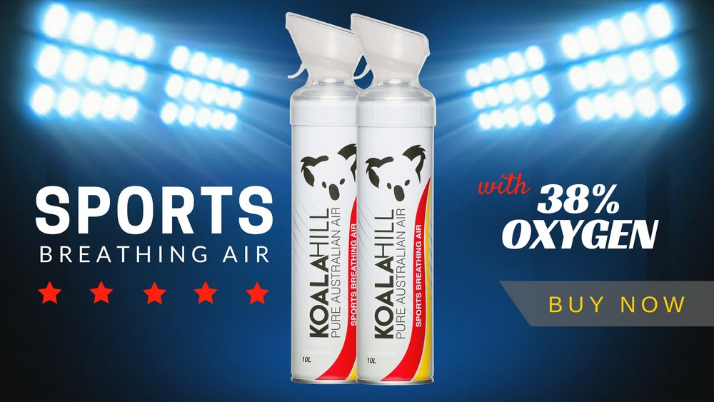 Koala Hill Sports Air with Enriched Oxygen, product banner