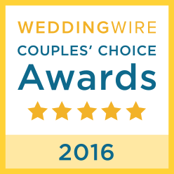 Wedding Wire Bride's Choice Awards Winner 2016