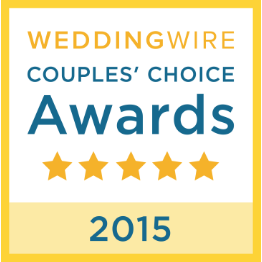Wedding Wire Bride's Choice Awards Winner 2015