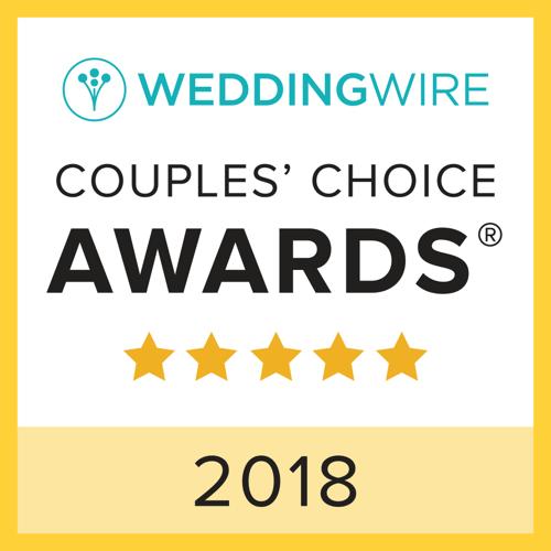 WeddingWire Couples' Choice Award Winner 2018