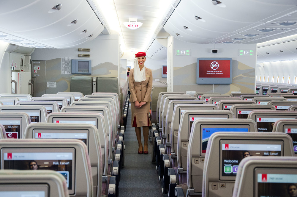 There are 26 flight attendants on every A380 flight.