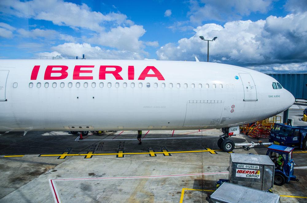 Iberia's Airbus A340-600, EC-LEV