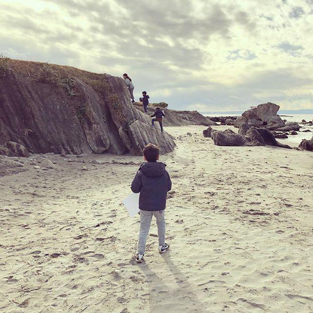 海辺で写生会 sketching by the sea - #hayama #isshiki #sketch #kidsdrawingclub