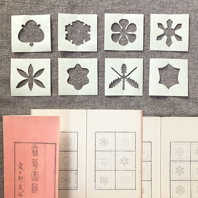 雪華図説 - the first Japanese figure collection of snowflakes - published in 1832 ❄️ Doi Toshitsura, the 4th daimyō of Koga Domain started observing snowflakes as his hobby with his own microscope which was imported from the Netherlands, and he drew pictures and studies about snowflakes in a book (Sekka Zusetu) - wikipedia - #sekkazusetsu #snowflake #snow #wintercrafts #papercraft #washi #craftwithkids #papercut #japaneseculture #japanesehistory #雪華図説 #国立国会図書館