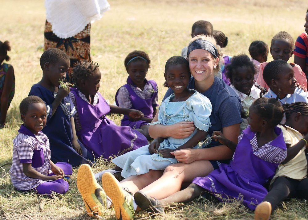 """i am involved in night of nets because i went to zambia this past summer and saw first hand the impact a bed net can have on families. i got to hear stories of how malaria has affected families and it has made me even more passionate about helping eradicate this problem."""