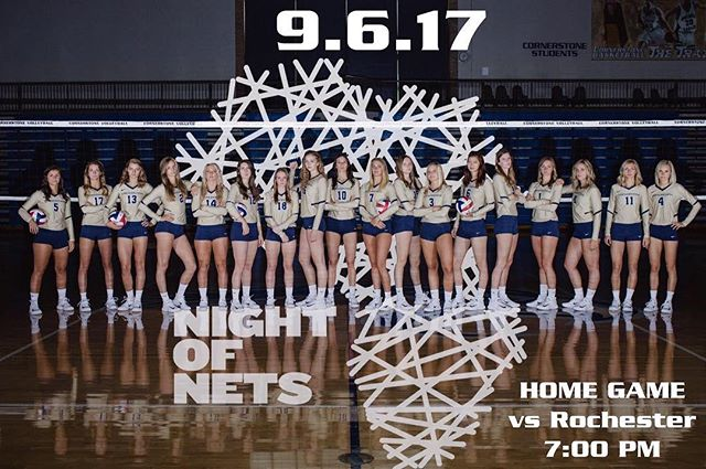 Wow! There is so much excitement happening tomorrow! First day back of school, first Volleyball home game, and first NIGHT OF NETS GAME!!!! The game starts at 7:00pm and has free admission with a suggested $6 donation that goes towards bed nets! We are also selling sweet new Night of Nets shirts for $10! We hope to see you all there!!! #nightofnets #endmalaria