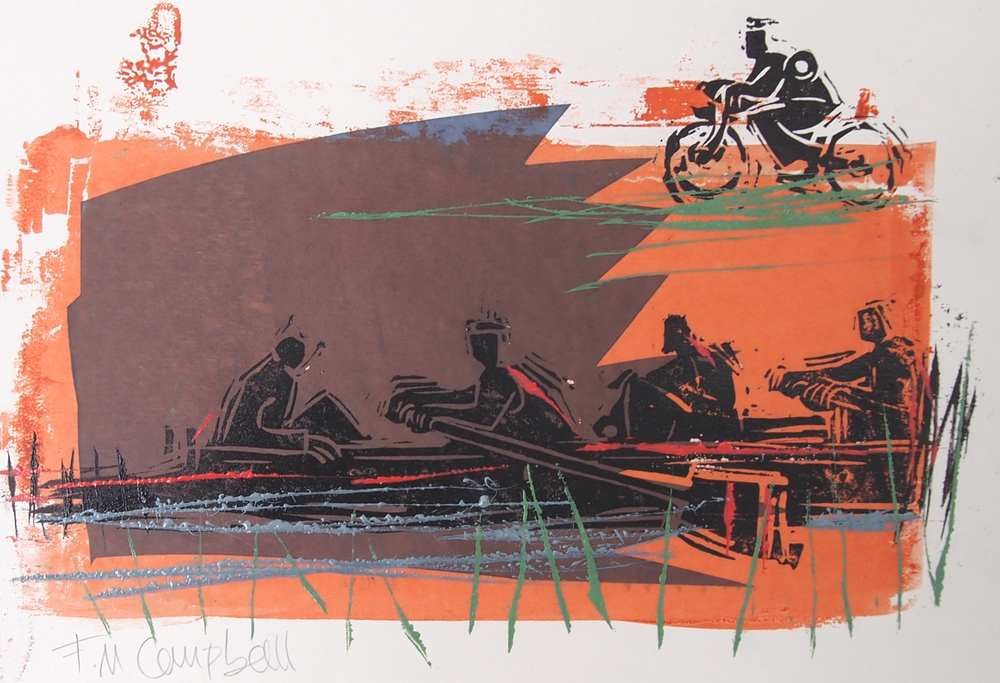 'Evening Outing  - 32cm x 22cm