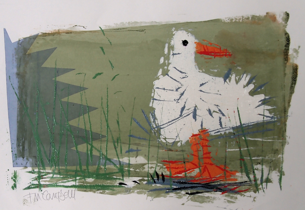 'Seagull I' - 35cm x 23cm SOLD