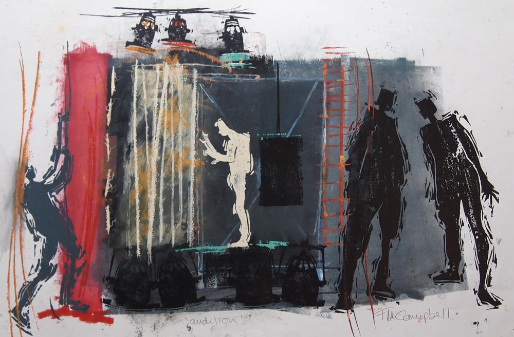 'Audition' - 66cm x 43cm