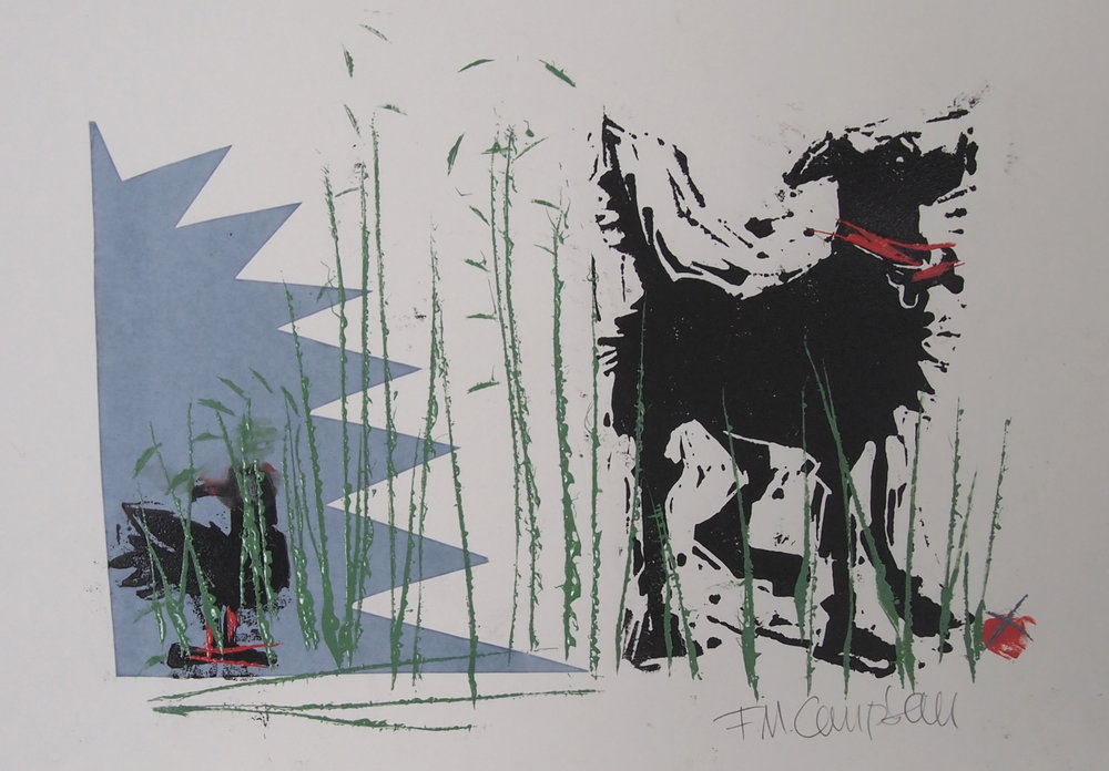 'In the long grass' - SOLD