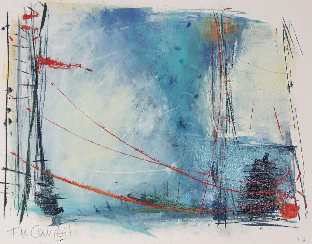 'Sail I' - 42cm x 32cm