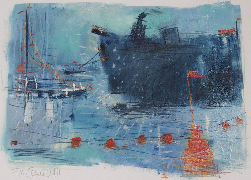 'Marina II' 43cm x 32cm SOLD